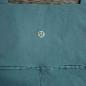 lululemon athletica Pants - Lululemon wunder under 7/8 hi-rise - persian blue